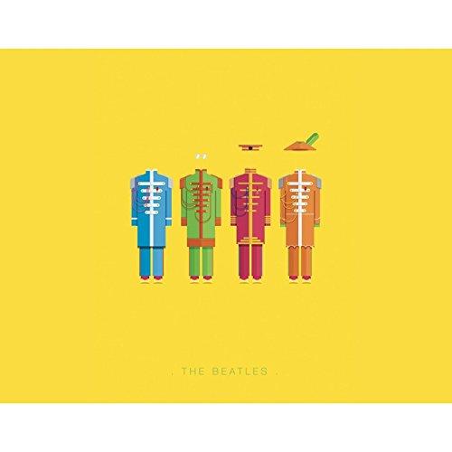 Sticker iPhone 5C de chez Skinkin - Design original : The Beatles par Frederico Birchal Coque iPhone 3