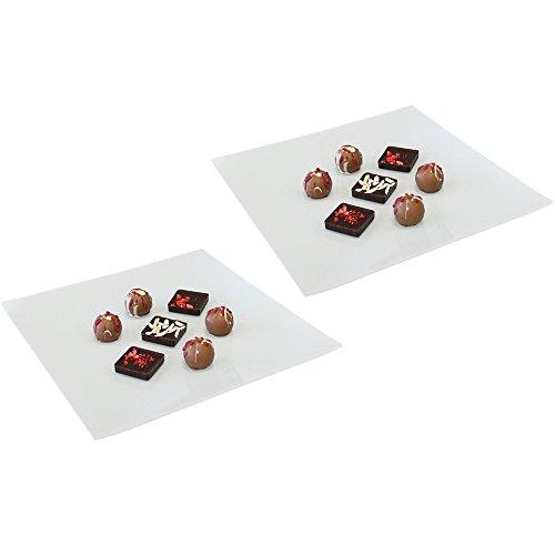 COM-FOUR ® 2x ciotola in vetro decorativa