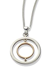 Clogau Ripples  Pendant with a Chain of 27-34cm