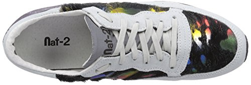 Nat-2 Quick 3, Chaussons Sneaker Homme Multicolore (White Multi M)