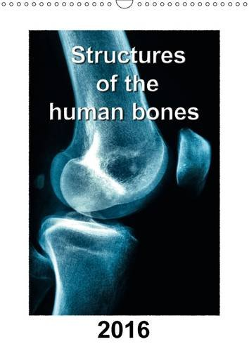 Structures of the human bones 2016: Structure of bones with detailed x-ray pictures in colour (Calvendo People) - Anatomie Kalender