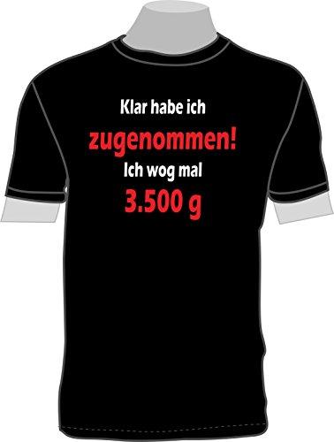 mmen! Ich wog mal 3.500 g; T-Shirt ()