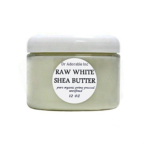Premium High Quality Shea Butter WHITE Unrefined Raw Organic 12 Oz