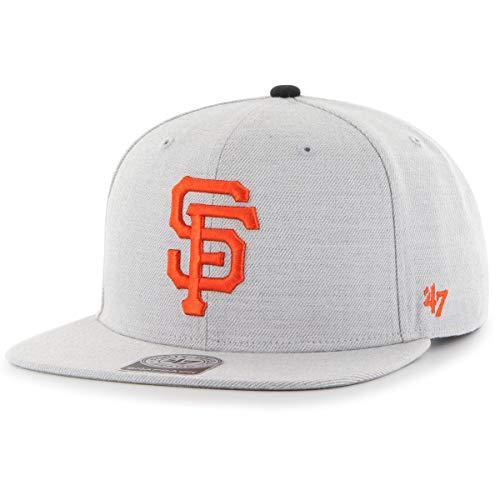 '47 Brand San Francisco Giants Boreland Snapback MLB Cap Grau (New Era Hut-sf)