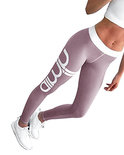 Outgobuy Frauen Active Workout Athletic Running Plus Size Yoga Leggings