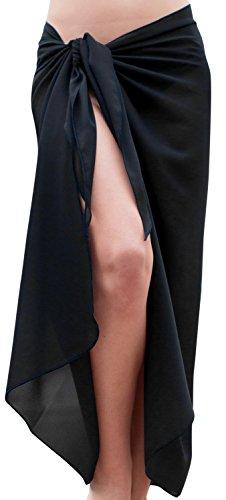 La leela costumi di halloween festa cosplay skull pirata gotico festival fancy dress vintage completini la costume da bagno crociera vestito resort sarong pareo hawaiano coprire pianura noi nero_u213