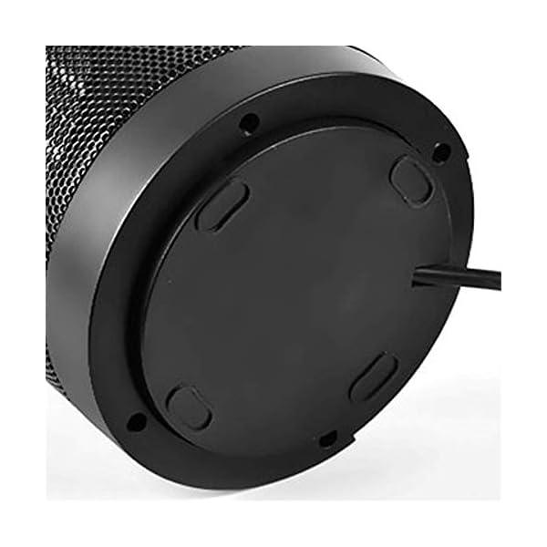XUEYE ABS Cilíndrico De Cerámica Calefacción Calentador Ventilador, Mini Calefacción Calentador Calentadores 4
