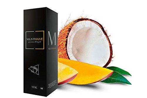 Must Have 10ml - Aroma M Gefrorene Mango mit Kokos Premium Konzentrat inkl 120ml Leerflasche