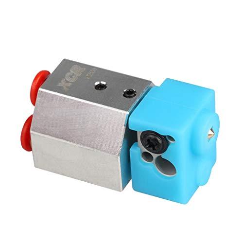 F Fityle 1 Stück Wasserkühler Hotend Wassergekühlt XCR WS-V1 Hotend für MK8 ABS-Extruder