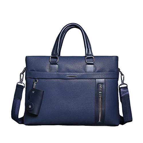 Männer Handtaschen-Geschäfts-Beutel-Computer-Aktenkoffer-Beutel-freie Schulter-Beutel-beiläufige Art Und Weise Blue1