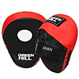 Green Hill Curved Fawn Focus Pads Gebogen Fokus Pads, Punching Pads Stanzen Pads, Boxing Pads Boxen Polster,Boxpads for MMA Training Punch Target Ideal for Boxing, Training and Workouts