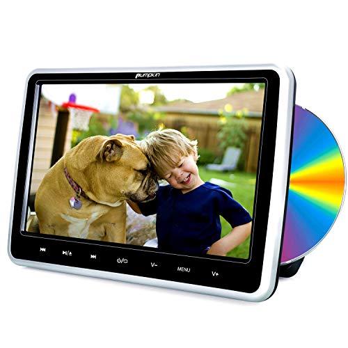 """Pumpkin Reproductor DVD Coche - 10.1"""" HD LCD Reproductor con Unidad Óptica..."""