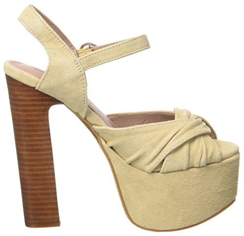 Jeffrey Campbell Suede, Sandali con Tacco Donna Bianco (Nude)