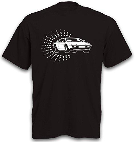 T-Shirt Sportwagen Esprit S1 Rennwagen Auto Youngtimer Oldtimer S-3XL Schwarz