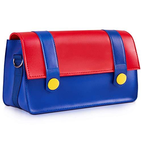 Funlab Custodia da Viaggio di Trasporto compatibile con Console Nintendo Switch e Accessori Borsa Messenger Tracolla pelle impermeabile Daypacks
