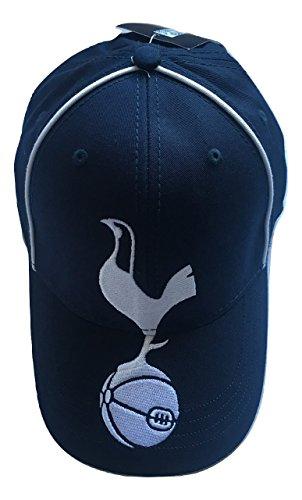 Mens-Official-Spurs-Tottenham-Hotspur-FC-Large-Crest-Navy-Cap
