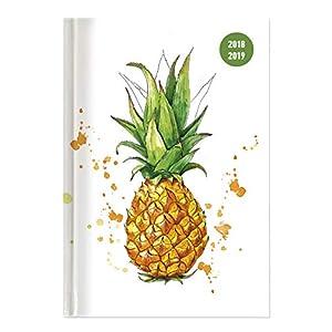 """Diario agenda scuola collegetimer """"Ananas"""" 2018/2019 - Giornaliera - 352 pagine - 15x21 cm"""