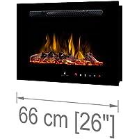 Noble Flame París 660 [Chimenea Eléctrica Montaje / Montado en la pared ]