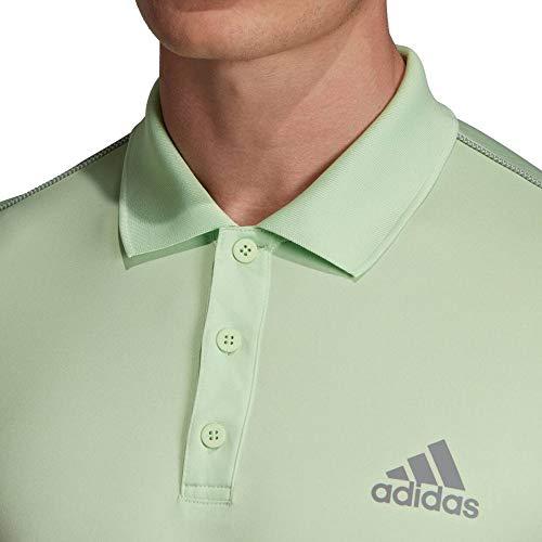 adidas Herren Club 3str Polo, verbri/Gritre, - Polo Adidas 3str Tennis