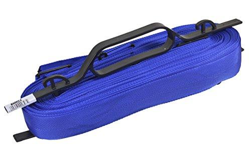 Linien für Beachvolleyball Spielfeldmarkierung 8 x16 9x18 verstellbar Volleyball Bandes (Blau)