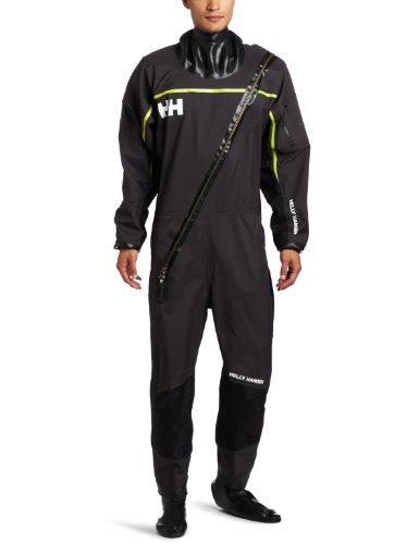 Helly Hansen Herren Hydro Power Dry Suit, Herren, ebenholz