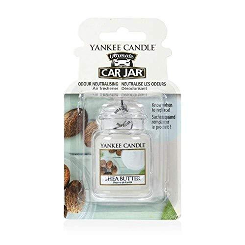 Yankee Candle 1521600E Deodoranti per Auto, Car Vaso Ultimate, Shea Butt