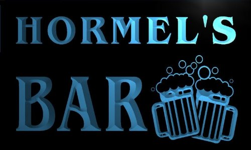 w057319-b-hormel-name-home-bar-pub-beer-mugs-cheers-neon-light-sign-barlicht-neonlicht-lichtwerbung
