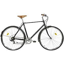 FabricBike Classic- Vélo de Ville (M-53cm, Classic Matte Black Original)