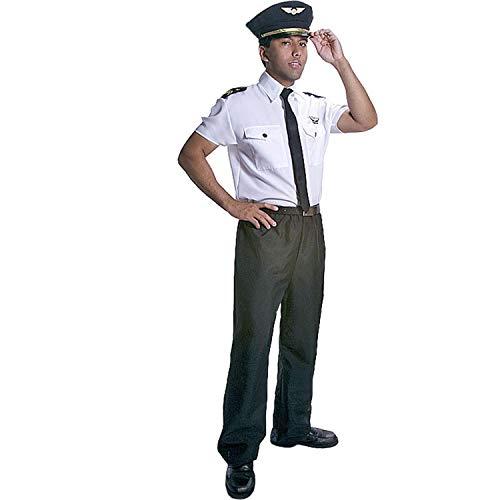 Dress Up America Deluxe Pilot Kostüm für Erwachsene