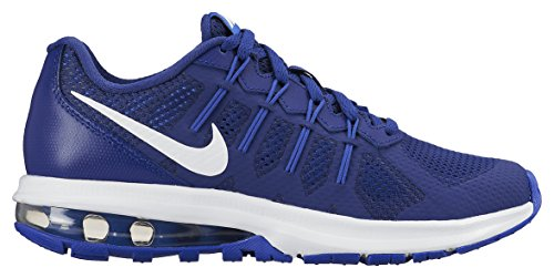 Nike Air Max Dynasty (GS), Chaussures de Running Entrainement Garçon Multicolore - Azul / Blanco (Deep Royal Blue / White-Rcr Blue)