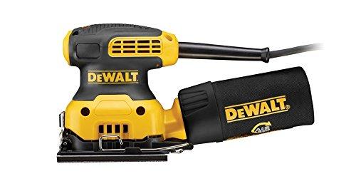 DEWALT Vibrationsschleifer, 1 Stück, gelb / schwarz, DWE6411-QS