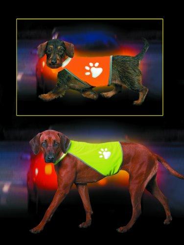 Artikelbild: Karlie Safety Dog Weste, Hw 45-56, Bw 68-78 cm, neon gelb