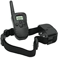 Collar Adiestramiento Perros Descarga Vibracion y Sonido Anti Ladridos