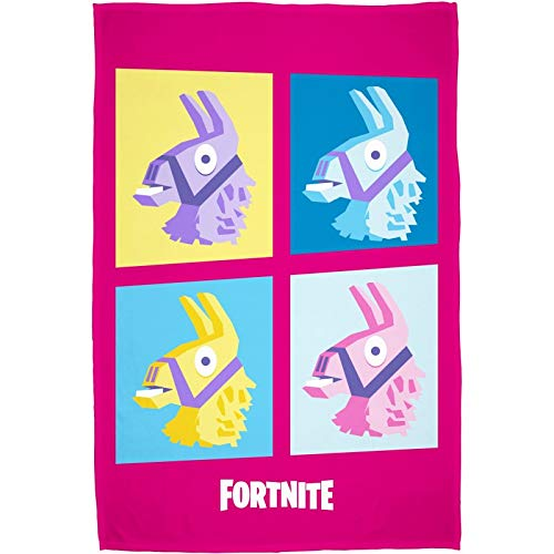 Epic Games Manta Polar Infantil Fortnite Lama Motif Label Oeko-Tex