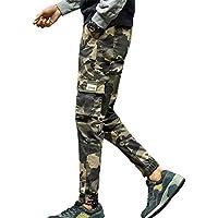 Cebbay Liquidación Pantalones de Hombre Pantalones Casuales Pantalones básicos para Correr Pantalones Bolsillo de Camuflaje de Moda Suelto