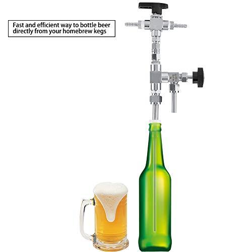 304 Edelstahl Gegendruck Bierflasche Füllstoff Hause Gebräu CO2 bier brauen Kit für Bierwaffe Abfüllanlage