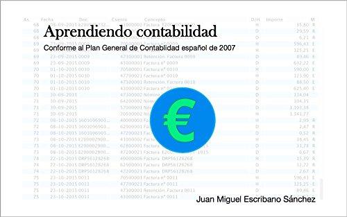Aprendiendo Contabilidad por Juan Miguel Escribano Sánchez