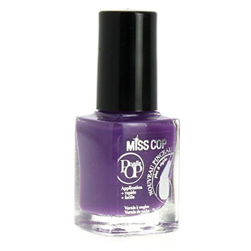 Miss Cop Vernis à ongles Pops Nails Collection Hiver - Violet