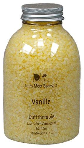 Totes Meer Natur Badesalz VANILLE 630 gr. beduftet mit hochwertigen Parfümölen - Belebende Bade-salz