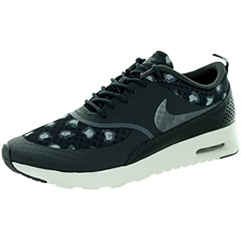 Nike Air Max Thea Print Women Schuhe black-dark grey-anthracite-wolf grey - 42