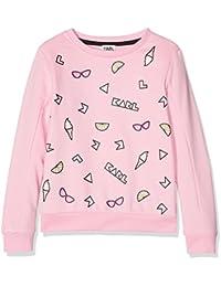 Karl Lagerfeld Z15085, Sweat-Shirt Fille