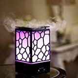 SHOPPOWORLD Essential Oil Diffuser Water Cube Humidifier Air Freshener with LED Night Light