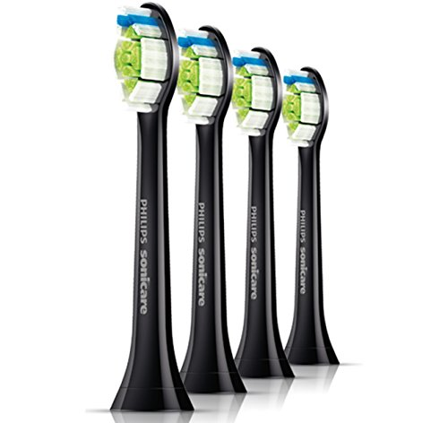 Philips DiamondClean Black Replacement Heads – 4 Pack