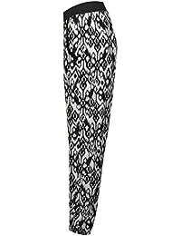 Fast Fashion - Pantalon Harem Aztèque Diamant Poches D'impression - Femmes