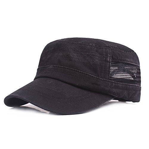 Sombrero de Copa Plano Ocio Retro Hat Gorra de Golf Sombrero de Sol Deporte  al Aire d7ab69e1781