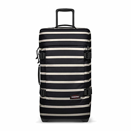 Eastpak Tranverz M Valise - 67 cm - 80 L - Gingham Stripe (Multicolore)