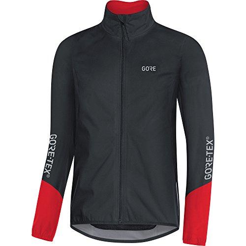 Gore Wear Herren C5 Tex Active Jacke, Black/Red, M