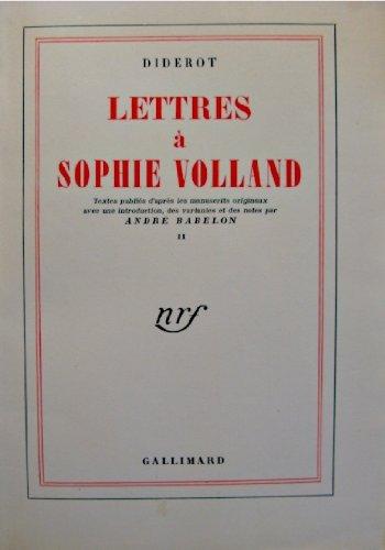 Lettres Sophie Volland [Pdf/ePub] eBook