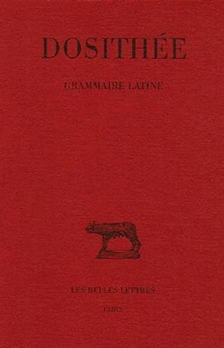 Grammaire latine par Dosithée