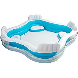 Intex Piscina Hinchable Con Asientos 882 L